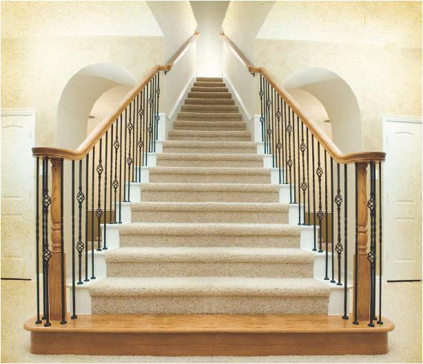 See the beauty that Iron Ballusters can add to you stairway.